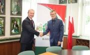 Burmistrz Barlinka oraz Wicemarszałek Województwa Zachodniopomorskiego
